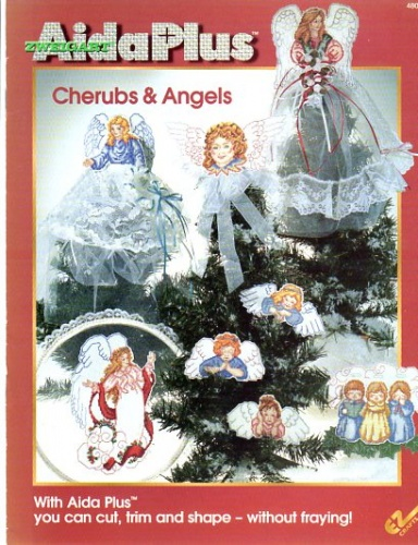 manuale schemi punto croce cherubs e angels